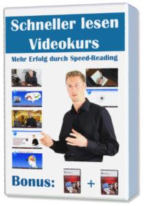 Schneller lesen Videokurs